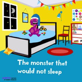 The monster that would not sleep kindle books